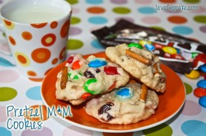 Pretzel MM Cookies